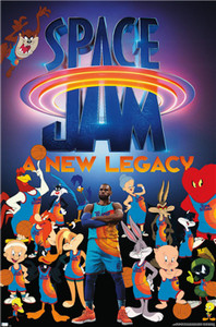 Space Jam - New Legacy Poster