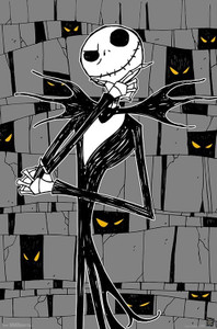 Nightmare Before Christmas - The Thinker Poster
