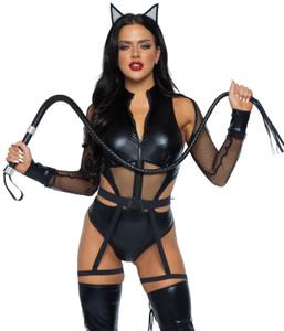 Criminal Kitty Bodysuit Halloween Costume