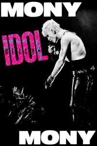 "Billy Idol - Money Money 12x18"" Poster"