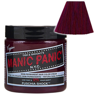 Manic Panic Fuschia Shock® - High Voltage® Classic Cream Formula Hair Color