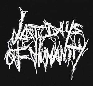"""Last Days of Humanity - Logo 5x4"""" Printed Patch"""