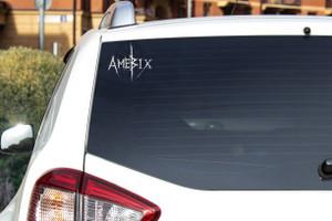 """Amebix - Logo 6x5.5"""" Vinyl Cut Sticker"""