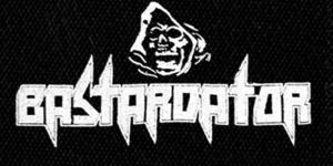 "Bastardator Reaper logo 5x4"" Printed Patch"