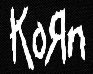 "Korn Logo 5x5"" Printed Patch"