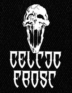 "Celtic Frost Skull 4x6"" Printed Patch"