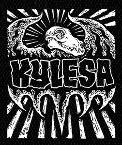 "Kylesa Dinosaur 5x5"" Printed Patch"