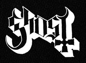 "Ghost Logo 6x5"" Printed Patch"