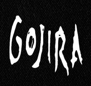 "Gojira Logo 5x5"" Printed Patch"