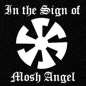 "Mosh Angel In The Sign of Mosh Angel 5x5"" Printed Patch"