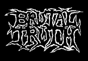 "Brutal Truth Logo 5x4"" Printed Patch"