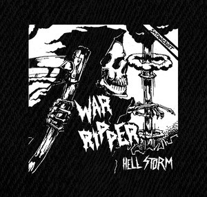 "War Ripper Hell Storm 5x5"" Printed Patch"
