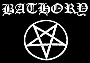 "Bathory Pentagram 5x4"" Printed Patch"