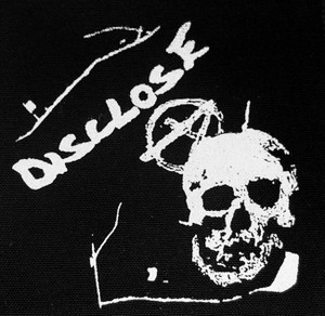 "Disclose Skull 5x5"" Printed Patch"