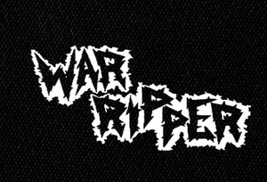 "War Ripper Logo 7x4"" Printed Patch"