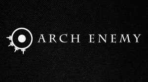 "Arch Enemy Logo 6x3"" Printed Patch"
