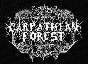 "Carpathian Forest Logo 5x4"" Printed Patch"