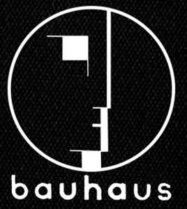 "Bauhaus - Logo 3x4"" Printed Patch"