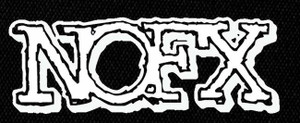 "NOFX Logo 4x3"" Printed Patch"