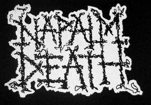 "Napalm Death Logo 5x5"" Printed Patch"