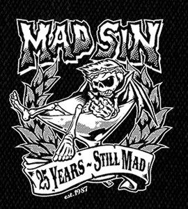 "Mad Sin Logo 5x6"" Printed Patch"