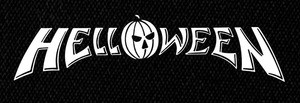 "Helloween Classic Logo 7x3"" Printed Patch"