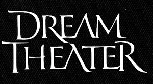 "Dream Theater Logo 6x4"" Printed Patch"