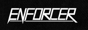 "Enforcer Logo 7x4"" Printed Patch"