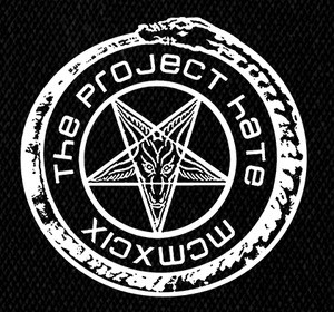 "The Project Hate Round MCMXCIX 4x4"" Printed Patch"