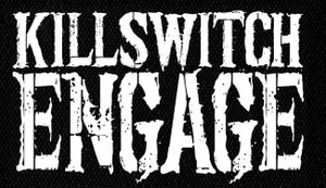 "Killswitch Engage Logo 5x4"" Printed Patch"