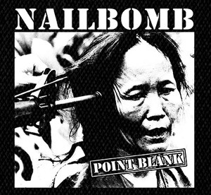 "Nailbomb Point Blank 5x5"" Printed Patch"