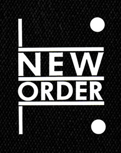 "New Order Logo 4x5"" Printed Patch"