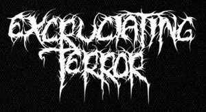 "Excruciating Terror - Logo 6x4"" Printed Patch"