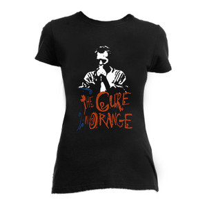 The Cure In Orange Girls T-Shirt