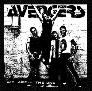 """Avengers We Are the One 5x4"""" Printed Patch"""