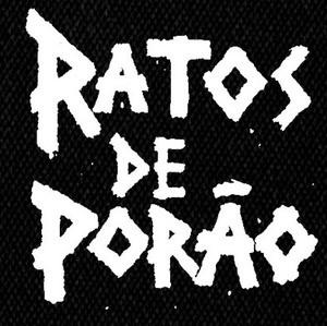 """Ratos de Porao Logo 4x4"""" Printed Patch"""