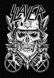 "Slayer Military 6x5"" Printed Patch"