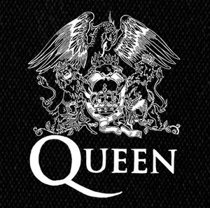 "Queen Logo 5x5"" Printed Patch"
