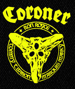 "Coroner Members 4x5"" Printed Patch"