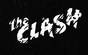 """The Clash Logo 5x3"""" Printed Patch"""