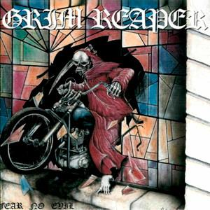 """Grim Reaper - Fear No Evil 4x4"""" Color Patch"""