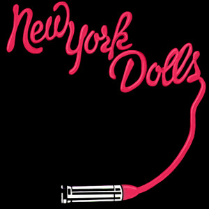 "New York Dolls - S/t 4x4"" Color Patch"