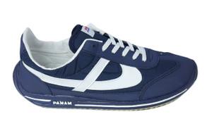 Panam - Navy Blue & White Unisex Sneaker