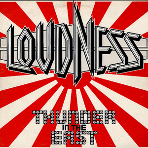 "Loudness - Thunder In The East 4x4"" Color Patch"