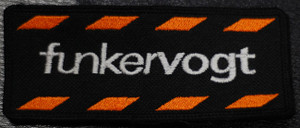 "Funker Vogt Logo 4x2"" Embroidered Patch"