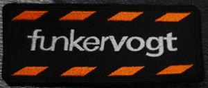 "Funker Vogt Logo 4x2"" Embroidered Patch"