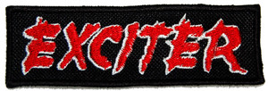 """Exciter Logo 5x1.5"""" Embroidered Patch"""