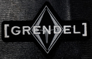 """Grendel Logo 4x2.5"""" Embroidered Patch"""