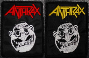 """Anthrax Not Man 3x4"""" Embroidered Patch"""