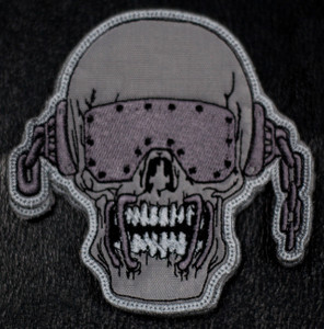 """Megadeth Vic Rattlehead 4x5"""" Embroidered Patch"""